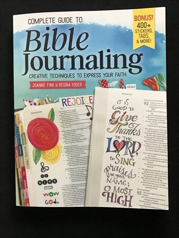 Cover of Bible Journaling Book Joanne Fink
