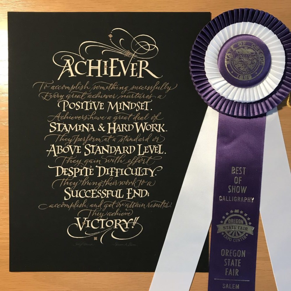 Achiever, Best of Show, Oregon State Fair 2017