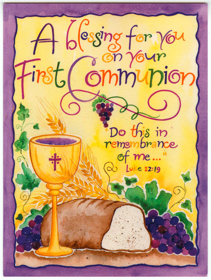 A Blessing for Your First Communion