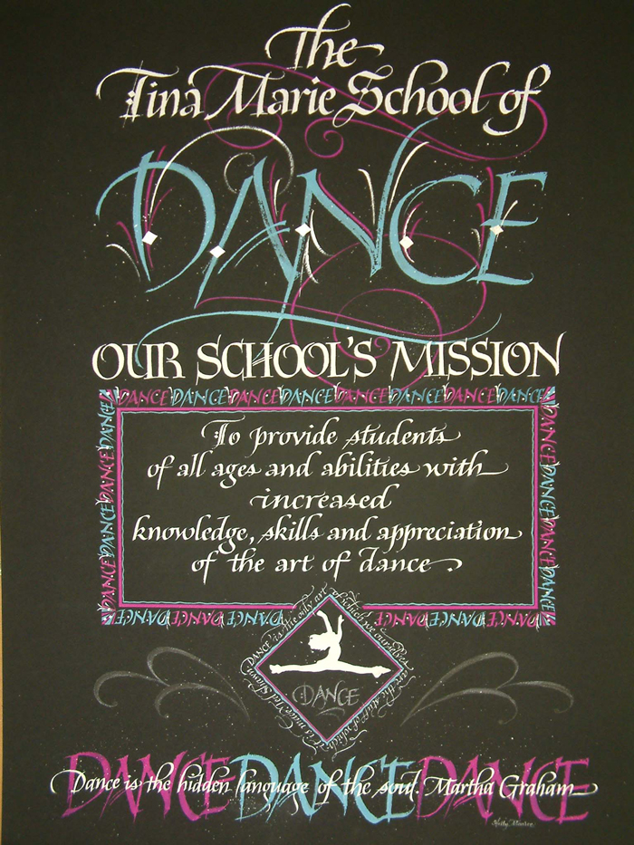 School of Dance Mission
