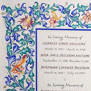 Book of Remembrance Page