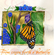 From Cocoon Forth A Butterfly