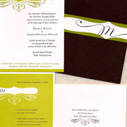 Wedding Invitations Contemporary
