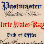 Postmaster Oath of Office